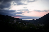 Unbelievably situated the small village of Balestrino with basically only one road cleaves to the Ligurian mountains.