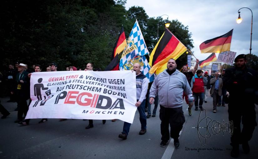 PEGIDA Munich marches again – rallies againstrefugees