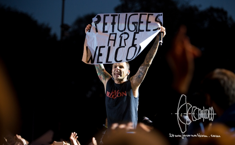 """Wir"" concert Munich – 25.000 attend the free festival welcoming refugees and thanking supporters"