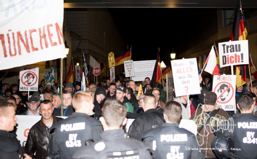 PEGIDA Munich – numbers persist after Paris Attacks