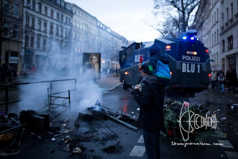 Neonazis march in Leipzig Südvorstadt – ViolenceErupts