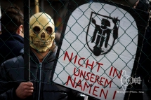 """""""Not in our name!"""""""