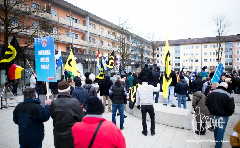 AfD holds rally in Geretsried – thousand protest against it