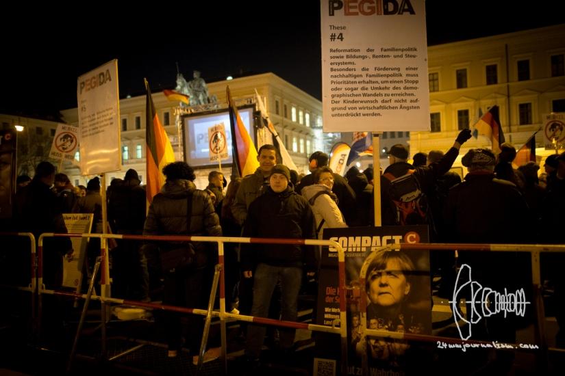 Picture Gallery PEGIDA Munich03-14-16