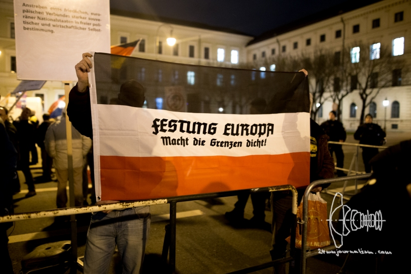 PEGIDA Munich blocked – Marches back on original Route