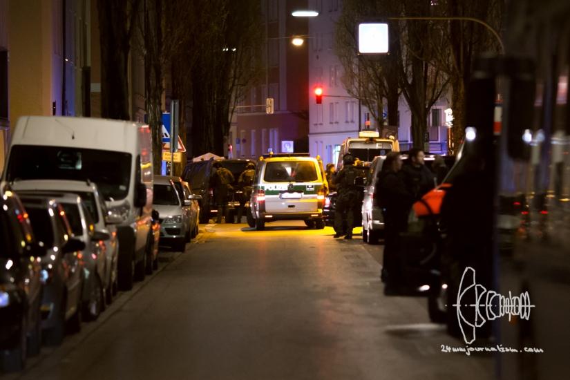 Shootout Maxvorstadt Munich after CustodyCase