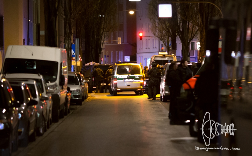 Shootout Maxvorstadt Munich after Custody Case