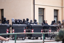Heavy clashes at 'Over the Fortress Europe' demonstration at Brenner