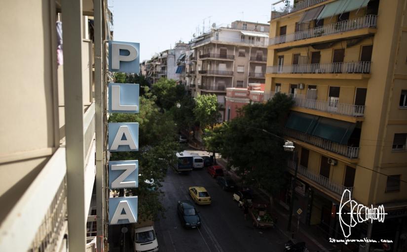 Inside City Plaza Hotel – self-organized refugeeshelter