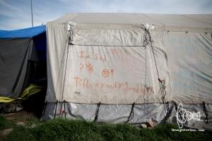 Evicted camp Ekostation