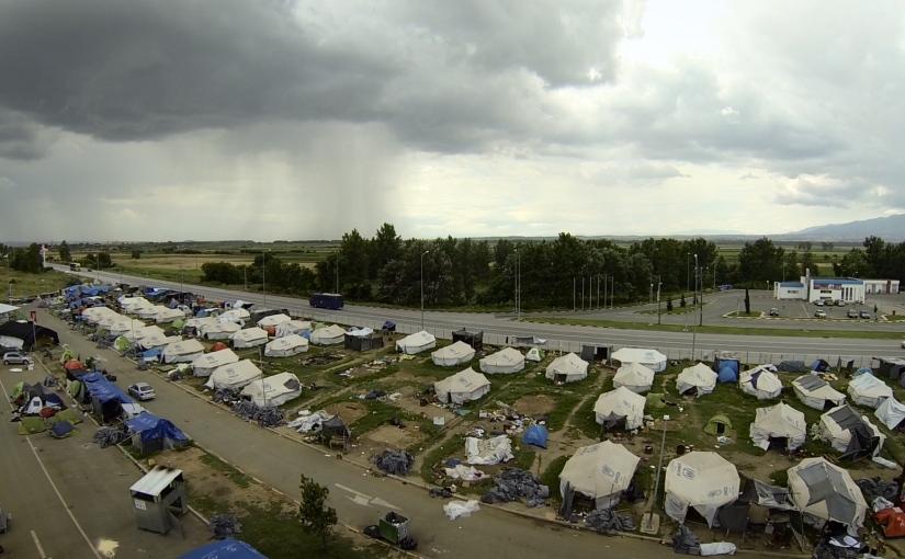 Camp Eviction at MacedonianBorder