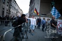Dan Eising - Die Rechte Nürnberg - as PEGIDA Munich marshall