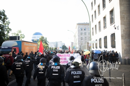 Blockupy Protest Berlin 2016