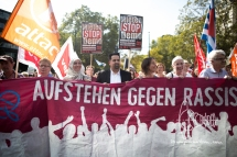 Stand Up Against Racism Demonstration