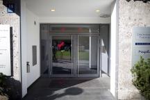 Entrance to SPD headquarter.