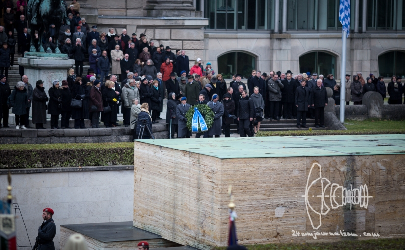 Ceremony for National Mourning Day in Munich