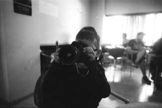 Mohammed, with 24mmjournalism's camera.