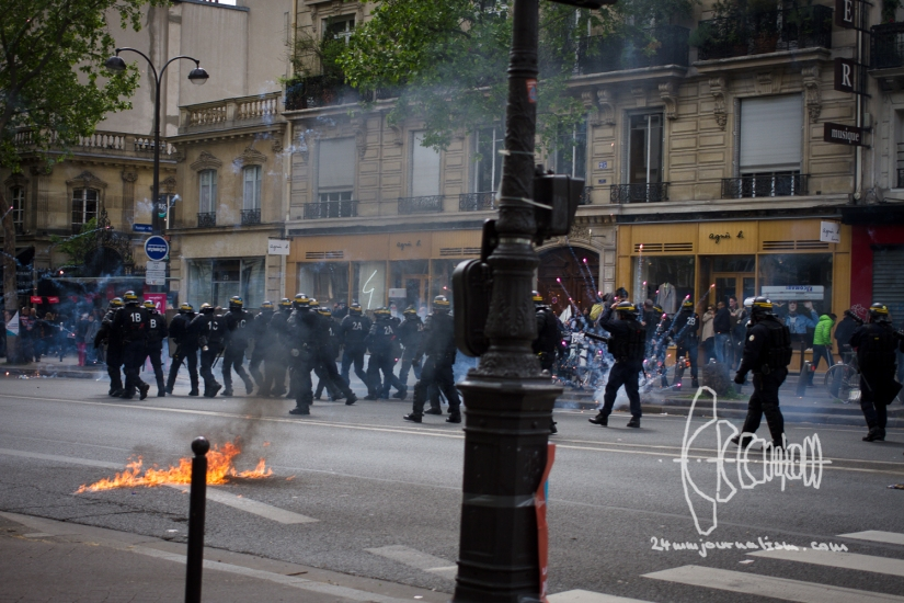 Mayday 2017 in Paris
