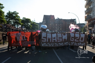 Demonstration starts