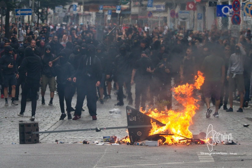 Protests against G20 in Hamburg